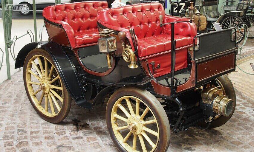 Primeiro automóvel no Brasil